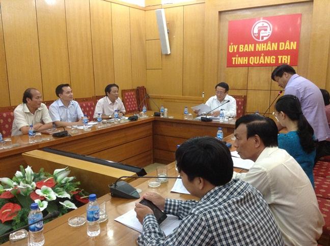 Lãnh đạo Hiệp Hội Sắn Việt Nam gặp mặt và làm việc với UBND tỉnh Quảng Trị.