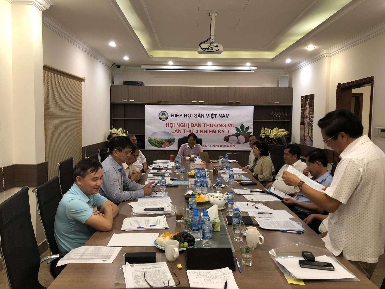 Hội nghị Ban Thường vụ lần thứ 3 Nhiệm kỳ II ngày 14.10.2020 tại Tp. Hồ Chí Minh