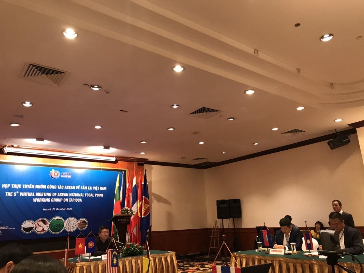 HỘI NGHỊ ASEAN (NHÓM CÔNG TÁC SẮN) LẦN THỨ 5 TẠI HÀ NỘI